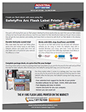 safetypro arc flash label printer