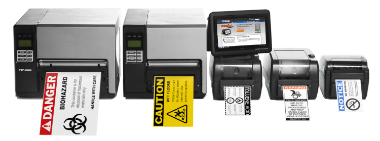 Our Industrial OSHA Label Printer line-up