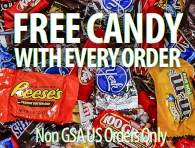 Free M&Ms with every order!