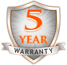 5 year warranty on vinyl labeling stock