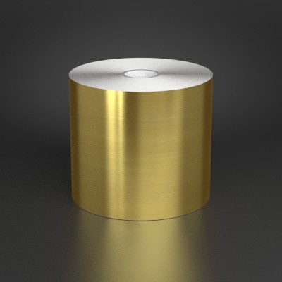 4in x 150ft Brushed Gold Metalized Film