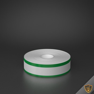 1in x 70ft Peak-Performance Continuous Double Green Stripe