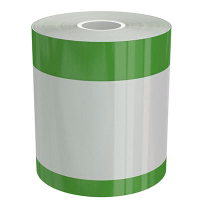 4in x 70ft Peak-Performance Continuous Double Green Stripe