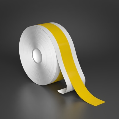 1in x 130ft Yellow UltraPeel premium vinyl tape