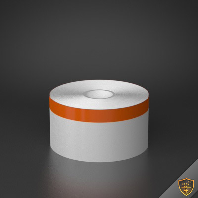 2in x 70ft Peak-Performance Continuous Orange Stripe