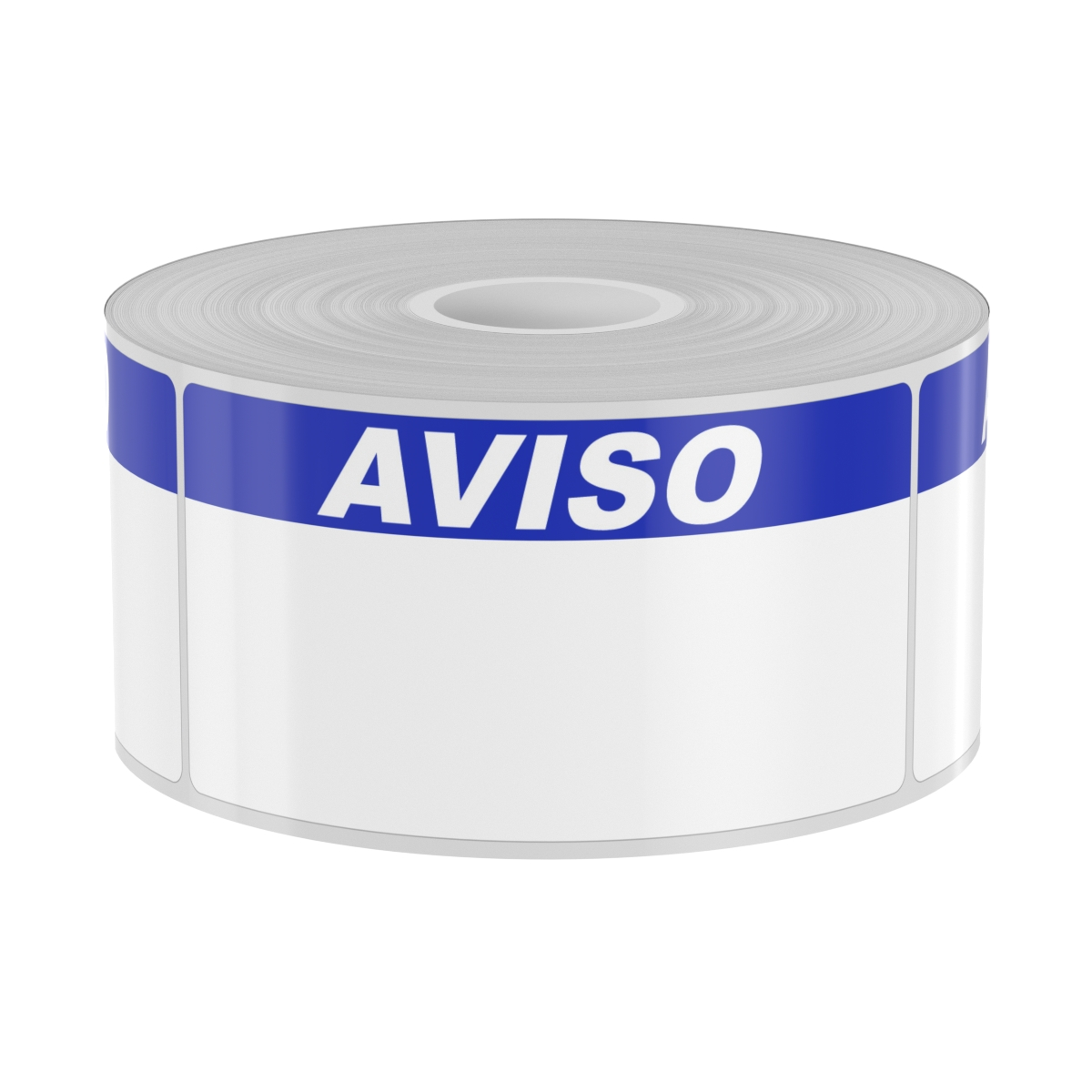 250 2in x 4in Labels with Blue AVISO Header