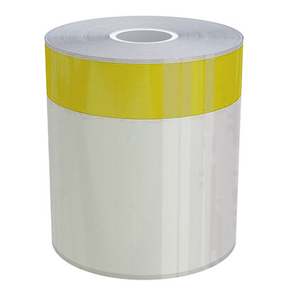4in x 70ft Peak-Performance Continuous Yellow Stripe